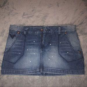 Volcom mini skirt